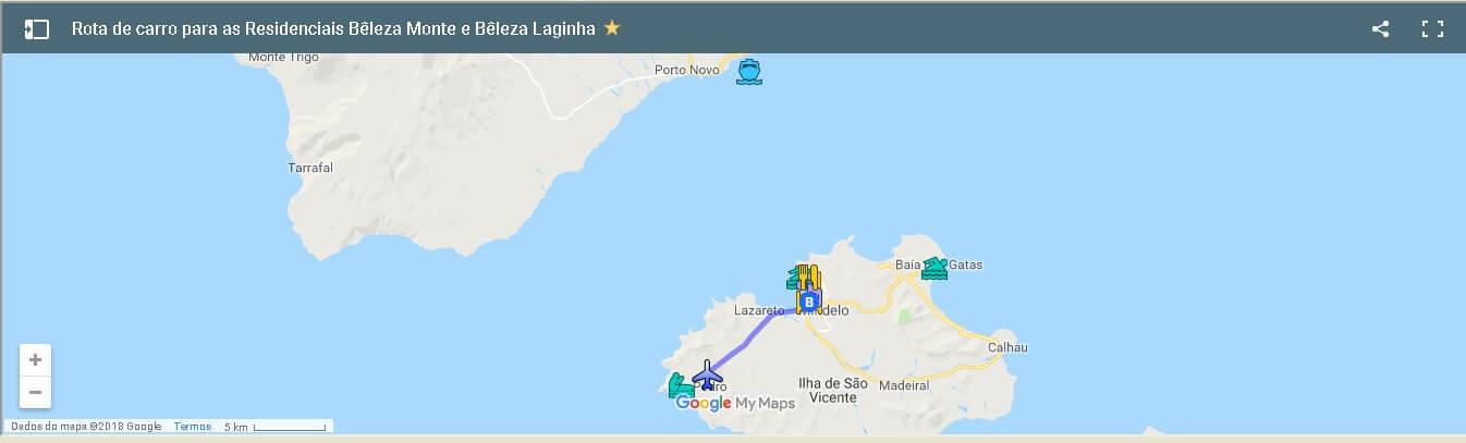 Residencial Beleza google map