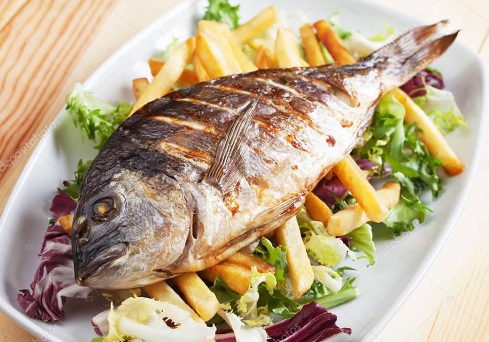 Prato do Dia: Peixe Grelhado
